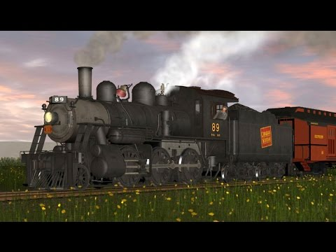 K&L Trainz PRR B1 Electric Switcher (Official) на tubethe com