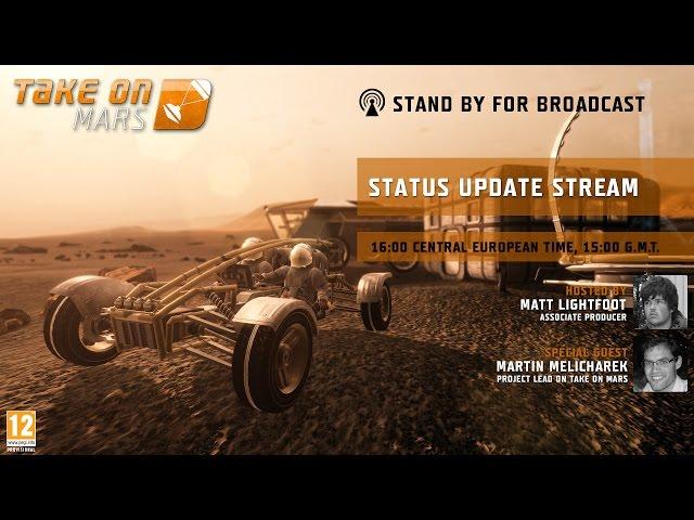 Руководство запуска: Take on Mars по сети