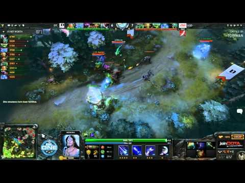 LGD China vs Dream Time Game 3  - ESL One China Qualfiers - @TobiWanDOTA @RyuUboruZDotA
