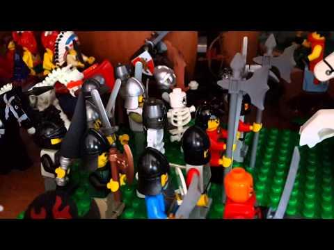 Моя коллекция Lego Castle (лего рыцари)