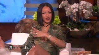 Rihanna on the ellen show 2016 ( FULL INTERVİEW )