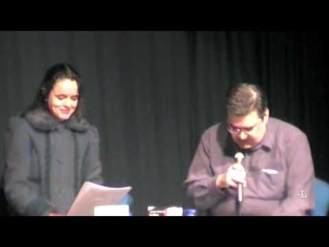 Sergi Pàmies presenta a Amélie Nothomb