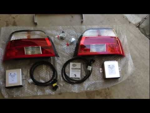 BMW E39:  Hella Celis LED Tail Light Upgrade Installation