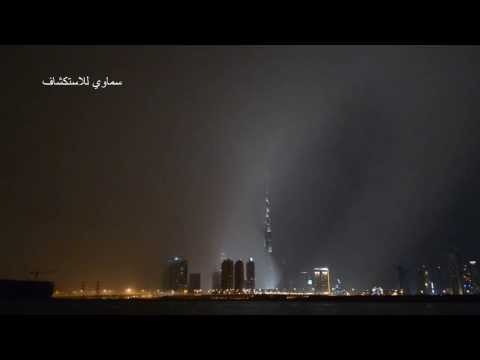 Hail storm hits Dubai