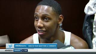 RJ Barrett and Julius Randle Speak After the Knicks Preseason Game vs. the Pelicans