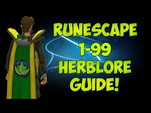 [RS] Runescape Ultimate 1-99 Herblore Guide | Over 450k EXP p/Hr | Commentary