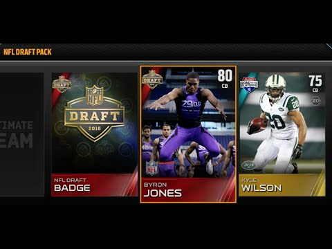 PULLING THE FASTEST PLAYER FROM THE 2015 NFL DRAFT! - Madden 15 Ultimate Team Pack Opening