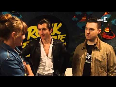 Arctic Monkeys - Interview à Rock en Seine 2014