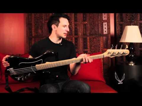 Dean Artist Spotlight: Bassist Derek Johnston from Adelita's Way
