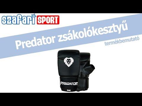 Predator műbőr zsákoló kesztyű termékbemutató videó