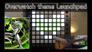 Overwatch theme (W.D zyro remix)// Launchpad Cover