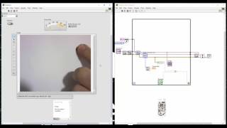 labview vision and motion distance measurement