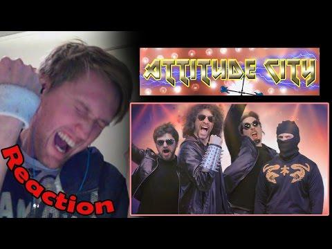 Ninja Sex Party - Attitude City Reaction! | Rock F**k! | (60fps) video
