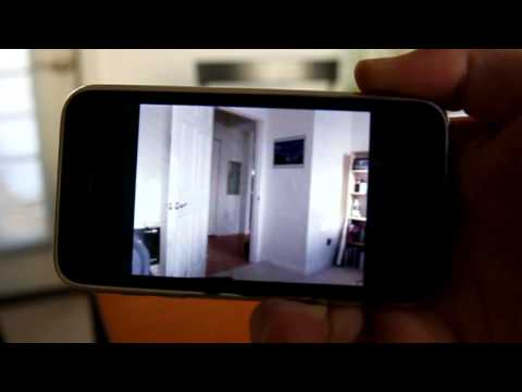 iCam. video surveillance app for iPhone and iPod Touch - Quick review