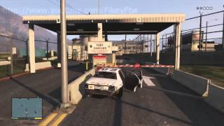 GTA V Police Chase
