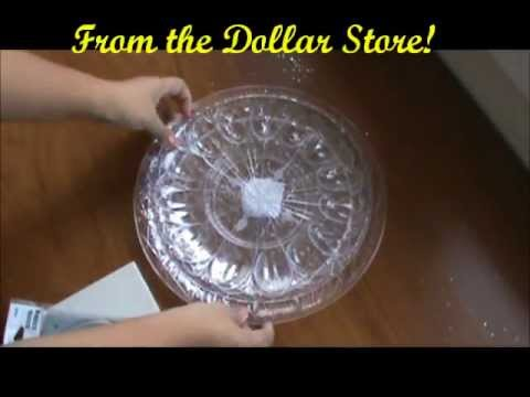 How To Make A Rotating Cake Stand
