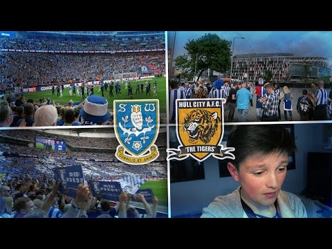 OMG! I WENT TO WEMBLEY! - Today we have a Vlog of the Championship Play Off FINAL! The match was Sheffield Wednesday vs Hull City at Wembley Stadium for Promotion to the Premier League and...