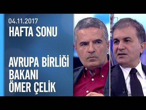 Bakan Ömer Çelik kritik sorulara Hafta Sonu'nda yanıt verdi - 04.11.2017 Cumartesi