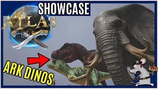 ATLAS DINOS? Why Are There Ark Creatures in Game? No More Dinos!