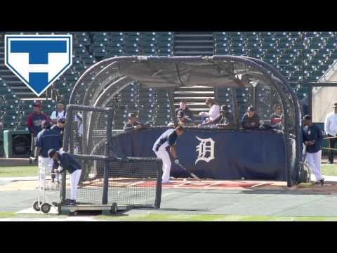 Miguel Cabrera, Prince Fielder, Victor Martinez Detroit Tigers Batting Practice