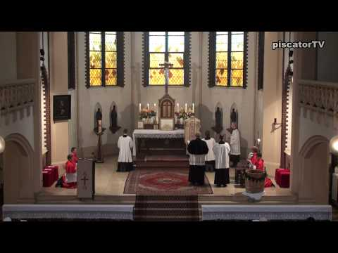 Dominica post Ascensionem 06 - Lectio - Traditional Latin Mass