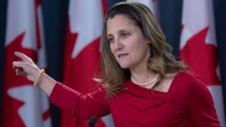 Freeland: 'Have not been able to make contact' with another Canadian in China