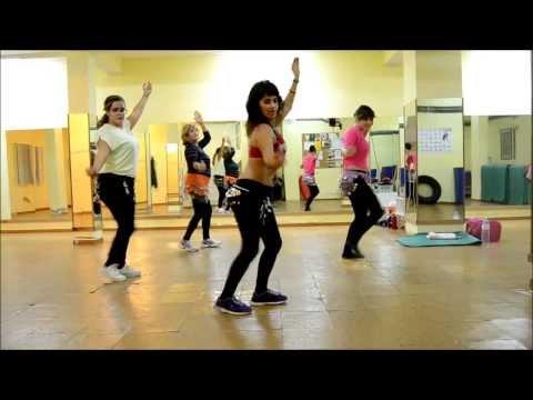 Ricky Martin -jaleo Belly Dance Style - Zumba   Fitness video