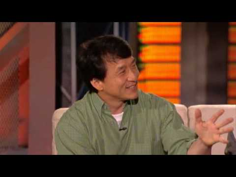 Jaden Smith and Jackie Chan - Lopez Tonight (6/16/2010) Video