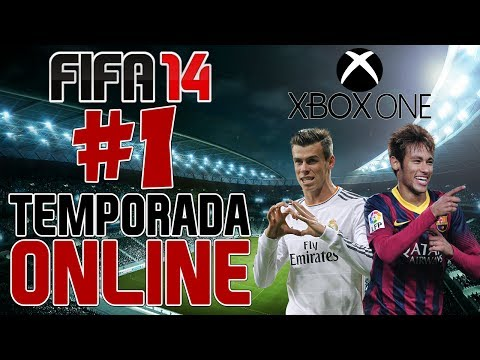 #1 - FIFA 14 - Temporada Online - Manchester City e Arsenal!  XBOX ONE [PT-BR]