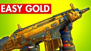 EASY Gold Camo Assualt Rifles - BO4 Dark Matter Tips