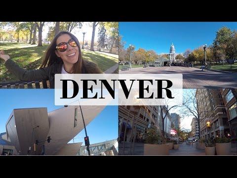VLOG: Um rolê por Denver downtown | Cabide Colorido