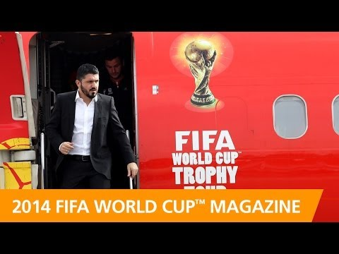 Bringing the FIFA World Cup Trophy to the people