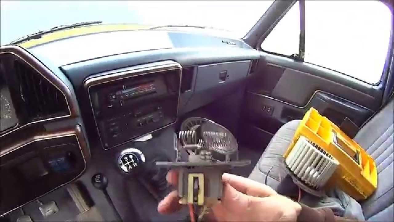 car heater  ac fan speed settings stop working