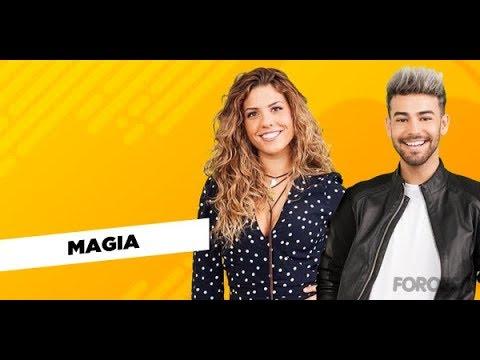 """MIRIAM Y AGONEY """"MAGIA"""" SEGUNDO PASE DE MICROS"""