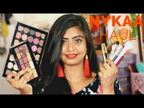 NYKAA HAUL 2018 || EXCITING PRODUCTS || Little Pixie Dust || Shalini Banik