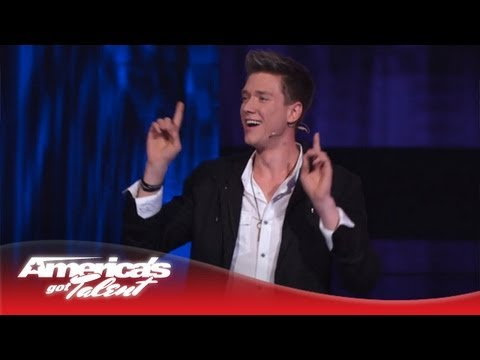 Collins Key - Using Magic to Get a Date in NYC - America's Got Talent Semi-Finals 2013