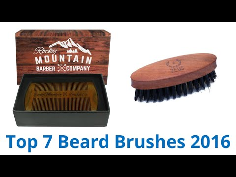 7 Best Beard Brushes 2016