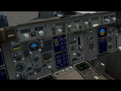 FSX CaptainSim 757 Procedures Tutorial Part I (Preflight)