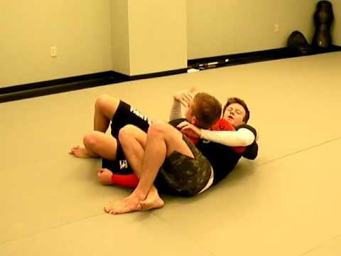 BJJ Technique - Crucifix Neck Crank Image 1