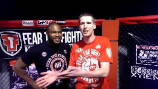 Charron Freestyle with Rashad Evans