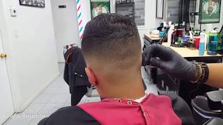 Medium Fade Finishing Touches | Barber Shop | El Ma Tiguere 💇‍♂️