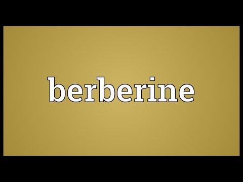 Header of berberine
