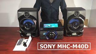 Loa Sony M40D, Khui Mở Hộp Loa Sony MHC-M40D - 0977254396