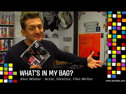 Alex Winter - What's In My Bag?