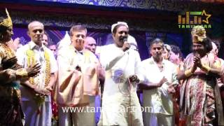 Vairamuthu And YG Mahendra At Ponniyin Selvan Stage Drama