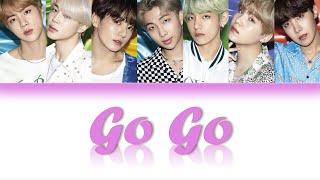 BTS (방탄소년단) – GO GO (고민보다 GO) LYRICS (Color Coded)