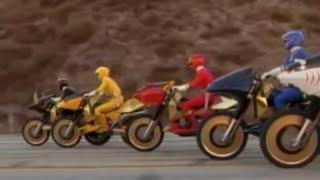 Power Ranger FuSalvage   Los Rangers consiguen los nuevos Savage Cycles