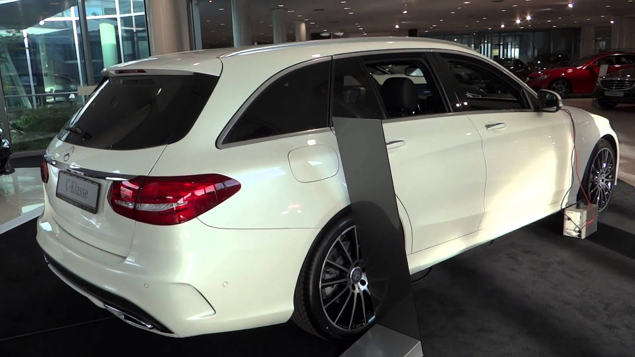 NEW Mercedes-Benz C-Class Kombi Station Wagon - YouTube