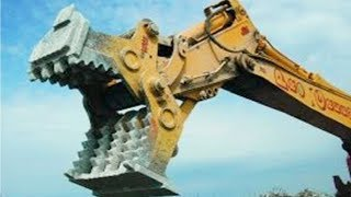 Fast Extreme Earth Moving Machines At Work & Heavy Equipment  Excavator House Demolition