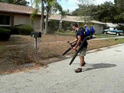 Most Powerful  Leaf Blower TwindStorm Dooly  WOW Crazy